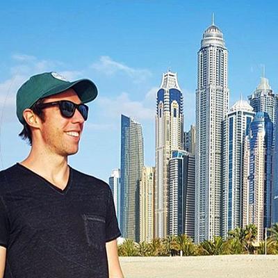 Adam Oliver in Dubai