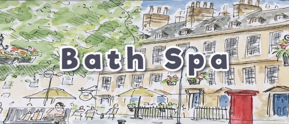 Bath Spa sketch