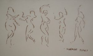 sepia life drawing 01