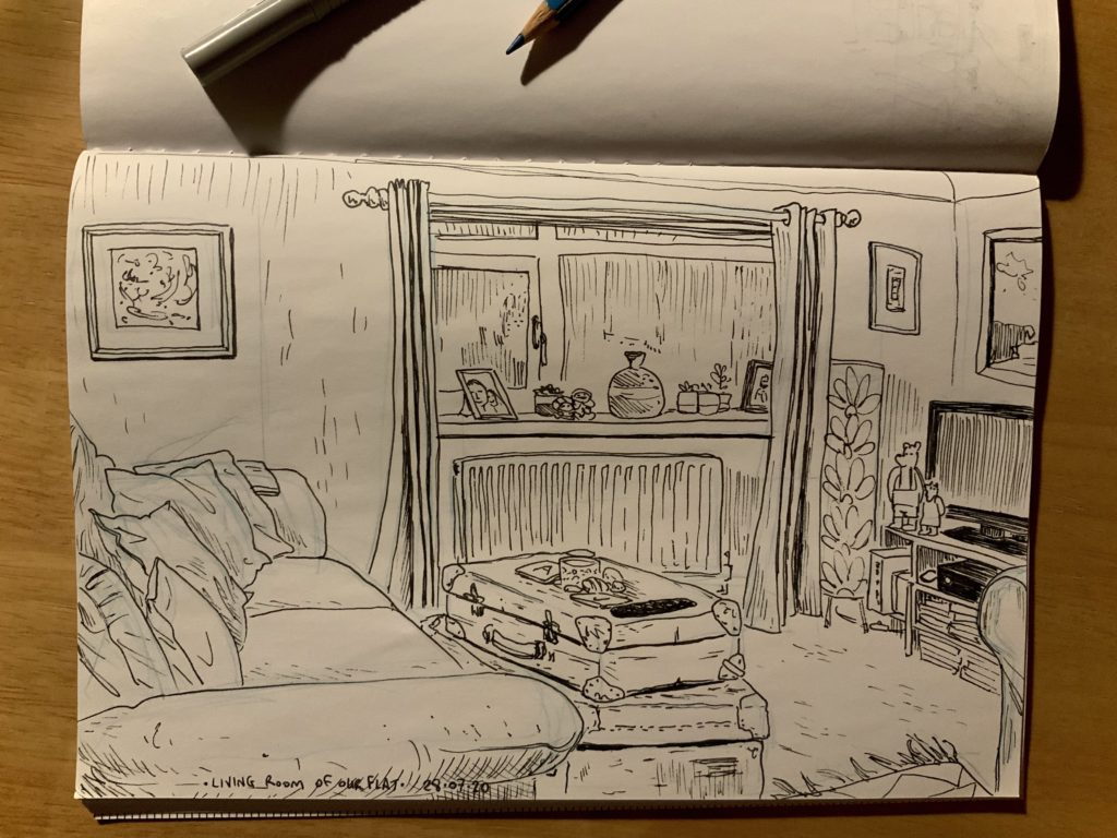 Living room doodling