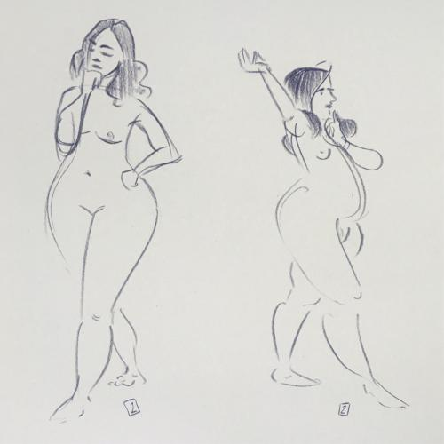 Summer life drawing 13