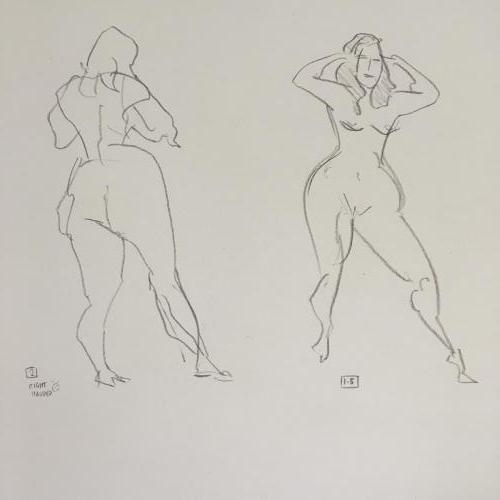 Summer life drawing 10